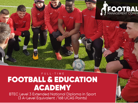 Football Coaching & Education Academy Launch