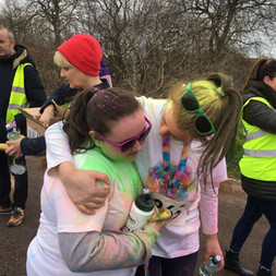 1.Congratulations and well done to all the Oakgrove College pupils who took part in the Colour Run at Foyle Arena in partnership with Derry & Strabane District Council.