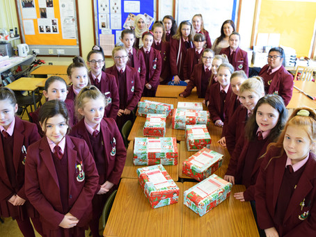 0815's Contribution to Blythswood Shoe Box Appeal