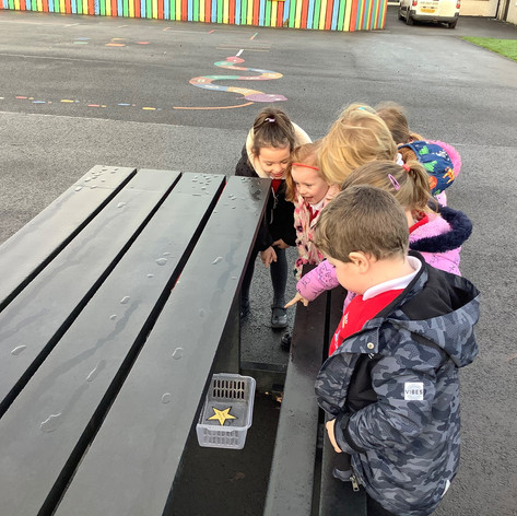 P1A have had fun going on a Follow the S