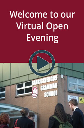 Welcome to our virtual open evening
