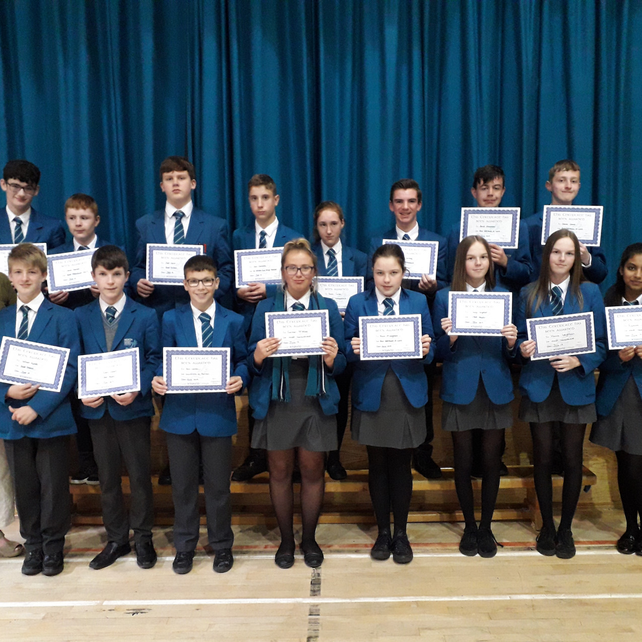 YEAR 10 Endeavour Awards - students pict