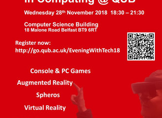 An Evening with Tech in Computing @ QUB