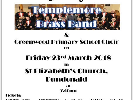 Greenwood Primary School Choir take part in Fund raising concert