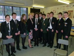 Lady Hermon visits Politics Society