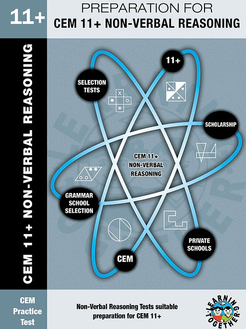 Preparation for CEM 11+ Exams: Non-Verbal Reasoning