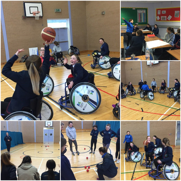 1.A big thank you to Rebecca and Patricia from @DSNI_tweets for their Women in Sport workshop at Oakgrove College. #inspired #everyonecandosomething #getfit #stayhealthy