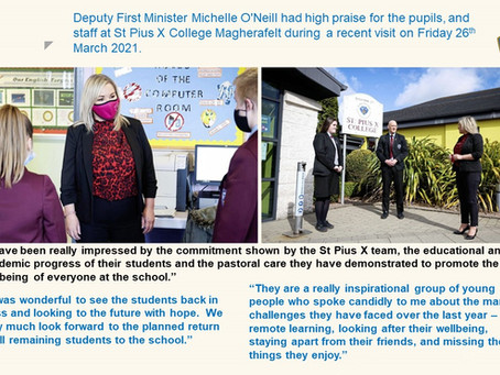 Deputy First Minister Michelle O'Neill Visit Highlights