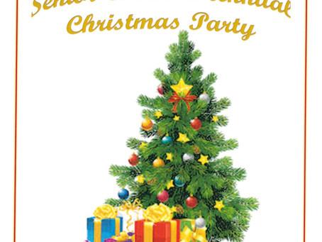 Senior Citizen's Annual Christmas Party