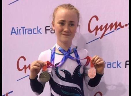 Molly McKenna Trampoline Success