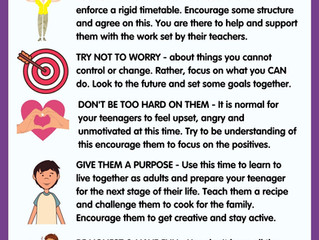 Tips for Parents & Teenagers