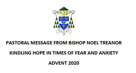 Advent Message 2020 From Bishop Noel Treanor