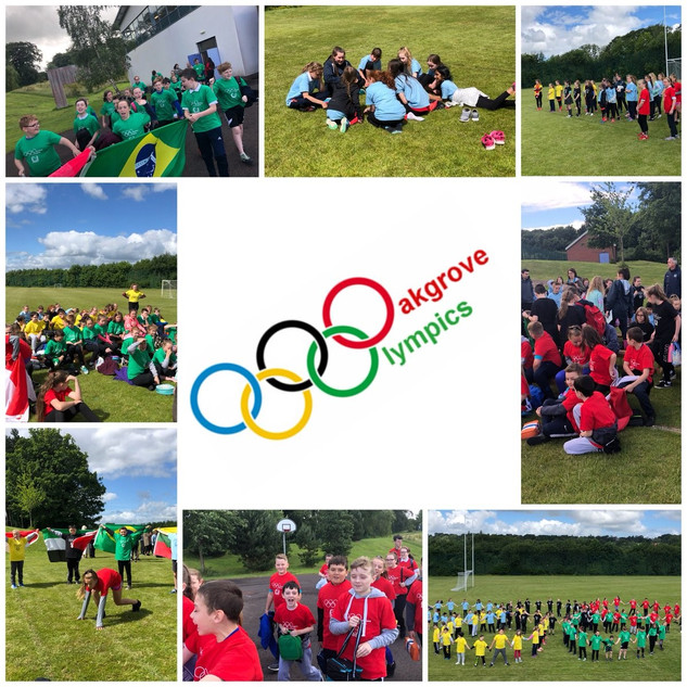 1.Fantastic day at the Oakgrove Olympics! Thanks to @OakgroveIPSN Cumber Claudy PS & Fountain PS for taking part. #olympiclegacy #getset @GetSetCommunity