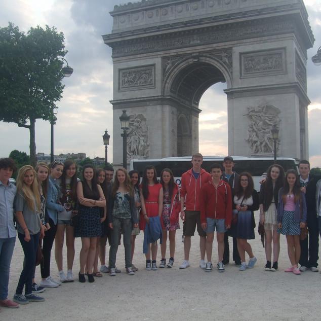 French Trip L'Arc de Triomphe.JPG