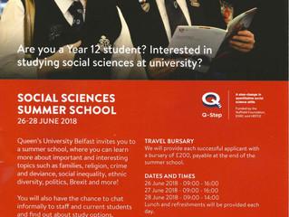 Social Sciences Summer School