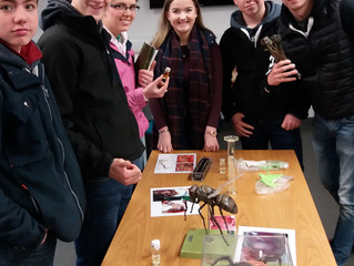 Greenmount Agricultural College Visit