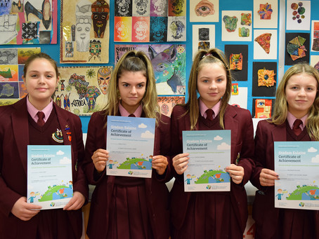 Environmental Poster Competition Certificates
