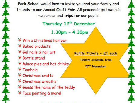 Park School Christmas Fair
