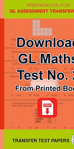 GL Maths Transfer Test 2