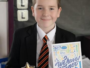 UK-wide Award for Daniel