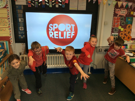 Sport Relief At Greenwood!