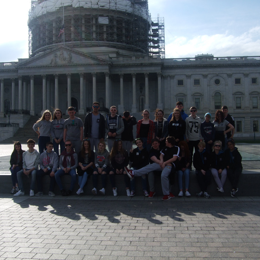 GSL students outside Capitol Building