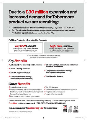 Option 1_Tobermore Recruitment Day_A4_Pa