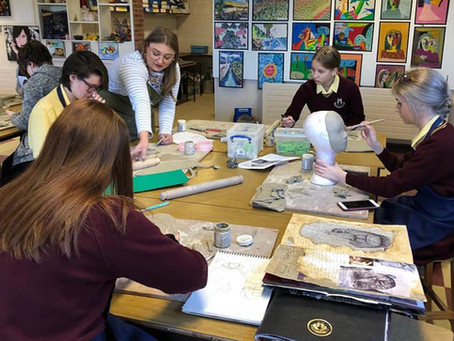 Ceramic Workshop for A Level Art Students