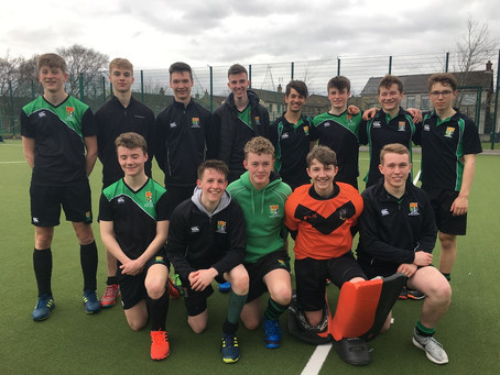 Boys Hockey – 2nd XI win Dowdall Cup Semi-Final