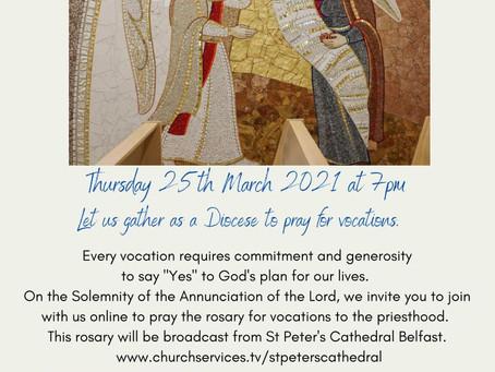 Celebrating Mary's Yes