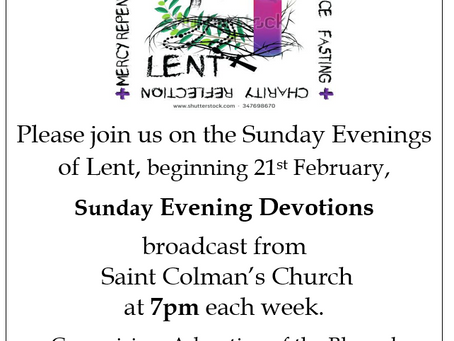 Celebrating the Season of Lent