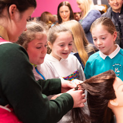 Primary Pupils Transfixed by Skills Show