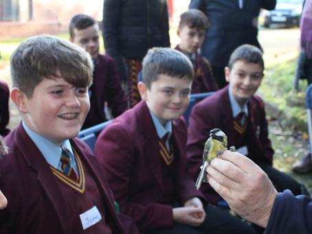 Biodiversity Club go Bird Ringing!