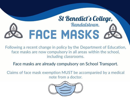 Face Mask Information- Jan 2021