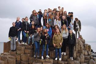 French Exchange travelled to the North Coast