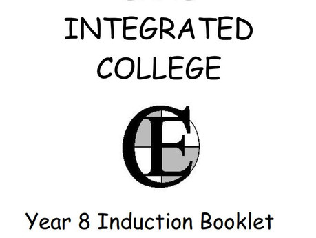 Year 8 Induction Booklet