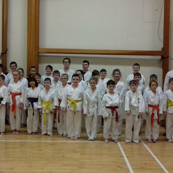 Congratulations to all the karateka who took part in the inter-club competition at Oakgrove College. Well done, see you again soon for grading.