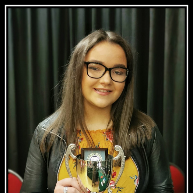 Highest in A2 level Mathematics winner Molly Mc Cormick