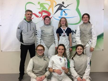 Fencing: Sullivan at the Irish National Team Championships