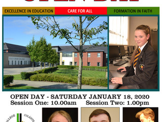 Open Day - January 18 2020