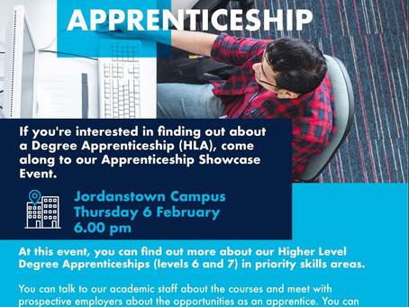 Higher Level Degree Apprenticeship