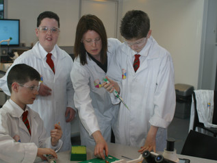 STEM Module Visits Erne Integrated College