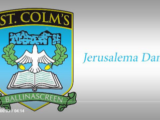 St. Colm's completes Jerusalema challenge for 'health and well-being'