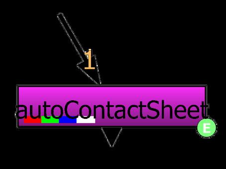 Auto Contactsheet