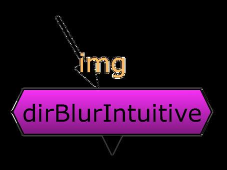 DirBlur Intuitive