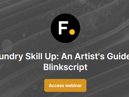 Foundry Skill Up: An Artist's Guide to Blinkscript
