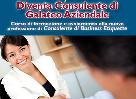 Galateo Aziendale: Etiquette Italy forma il consulente del futuro!
