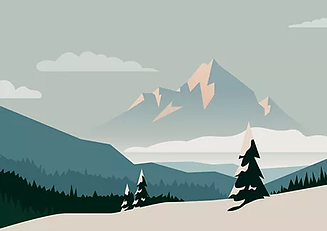 Illustrated Mountains.webp