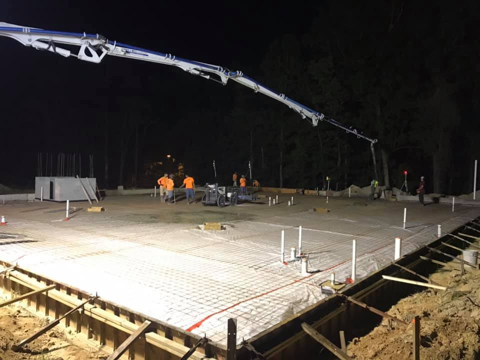 First Floor Slab