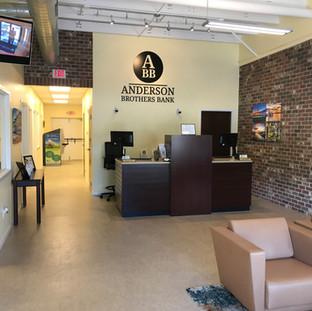 Anderson Brothers Bank Renovation